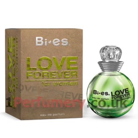 4d347456f6 Bi-Es Love Forever Green - Eau de Parfum 90 ml- www.1Parfumerija.lt